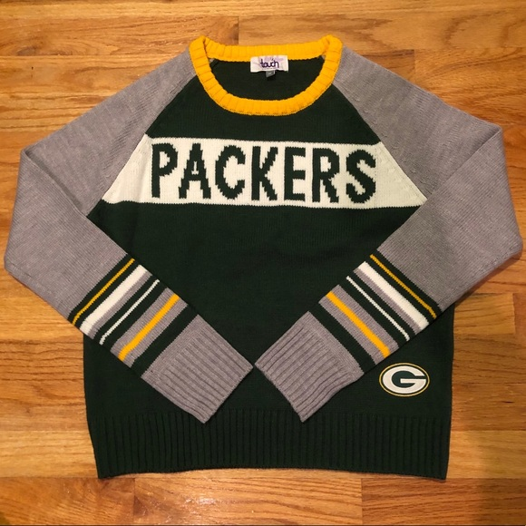 new products cd9e9 b23d6 OFFICIAL NFL GREEN BAY PACKERS KNIT SWEATER